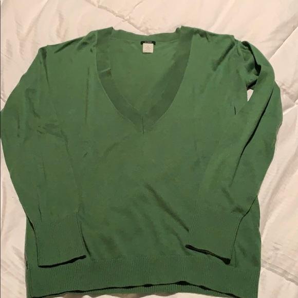 J. Crew silk cashmere sweater